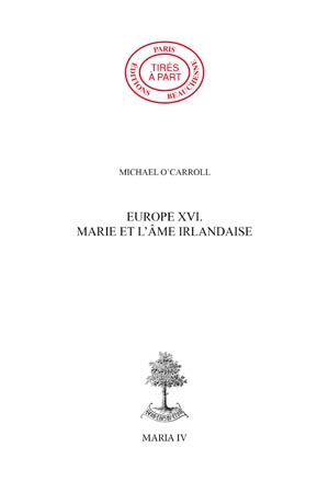 EUROPE 16. - MARIE ET L'AME IRLANDAISE