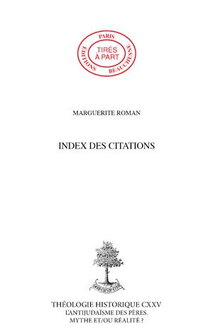 INDEX DES CITATIONS