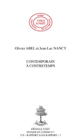 09. CONTEMPORAIN À CONTRETEMPS