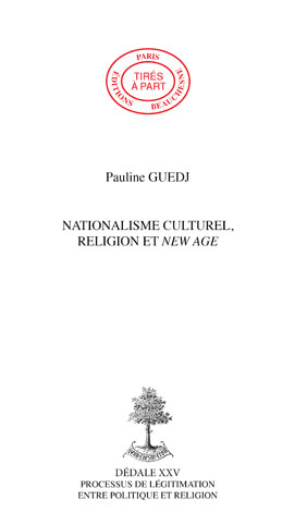 09. NATIONALISME CULTUREL, RELIGION ET NEW AGE