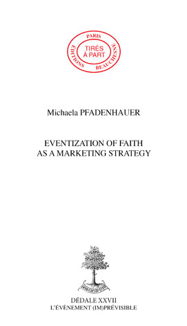 08. EVENTIZATION OF FAITH AS A MARKETING STRATEGY