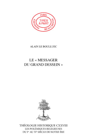 "LE""MESSAGER DU GRAND DESSEIN"""