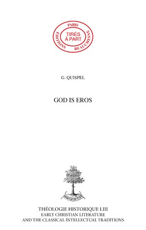 GOD IS EROS
