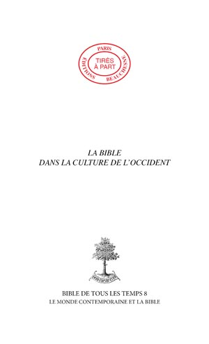 LA BIBLE DANS LA CULTURE DE L'OCCIDENT