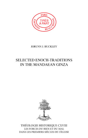SELECTED ENOCH-TRADITIONS IN THE MANDAEAN GINZA