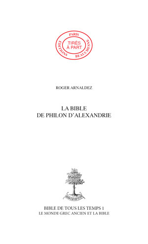 02. LA BIBLE DE PHILON D'ALEXANDRIE