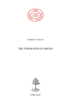 28. THE STROMATEIS OF ORIGEN