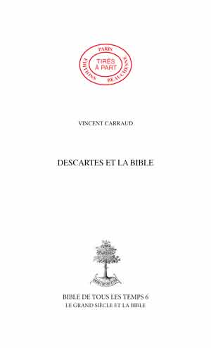17. DESCARTES ET LA BIBLE