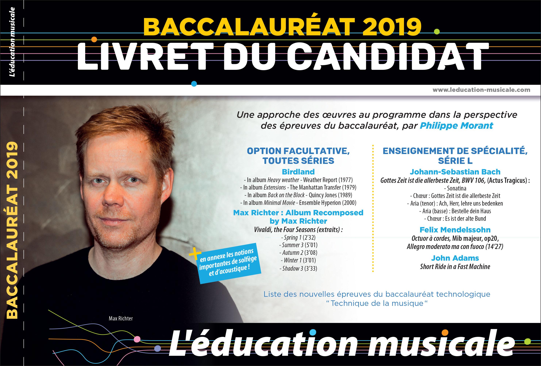 Baccalauréat 2019 Livret du candidat
